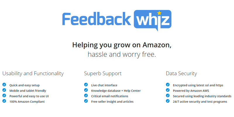Review of Feedbackwhiz Amazon Seller Tools