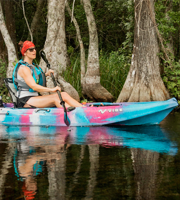 Review of Vibe Kayaks Skipjack 90 Sit-On-Top Kayak