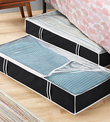 Review of ZOBER Flexible Zippered Underbed Storage Bag