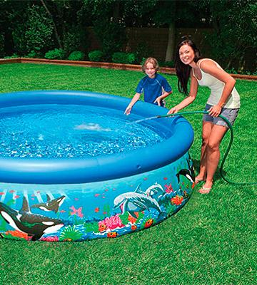 Review of Intex Ocean Reef Easy Set Inflatable Family Pool