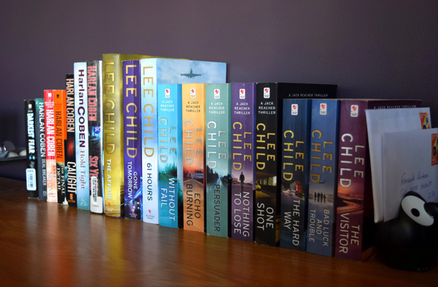 Comparison of Jack Reacher Books