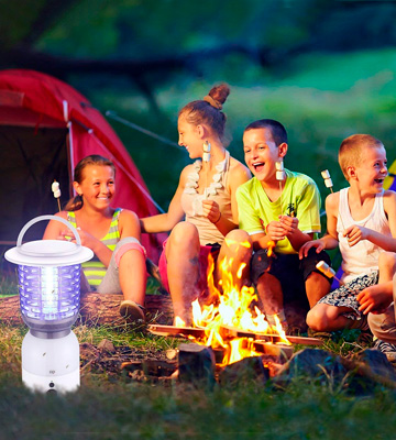 Review of Miady Camping Bug Zapper Rechargeable