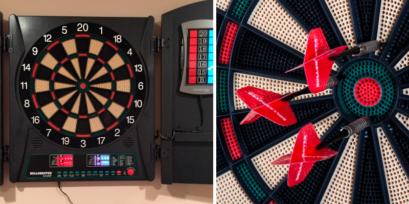Review of Arachnid Cricket Maxx 1.0 Electronic Dartboard Cabinet Set