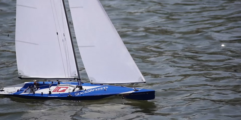 Kyosho Seawind RC Racing Yacht Vehicle application