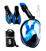 SNORKELSTAR PANORAMIC Full Face Snorkel Set