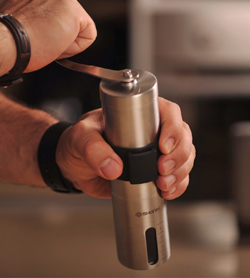 Review of Shanik Conical Ceramic Burr Manual Coffee Grinder with Adjustable Setting
