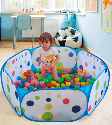 Review of EocuSun Large Kids Ball Pit