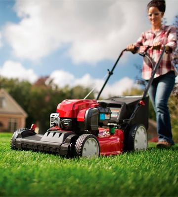Review of Troy-Bilt TB330 3-in-1 Rear Wheel Drive Self-Propelled Lawn mower