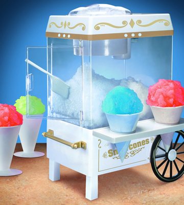 Review of Nostalgia SCM502 Snow Cone Maker, Vintage Collection
