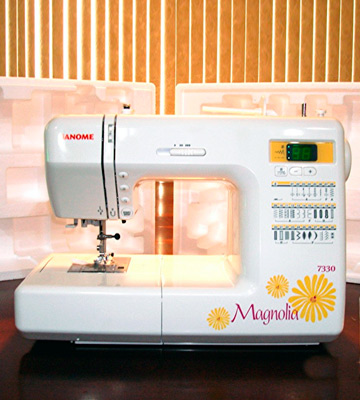 Review of Janome 7330 Magnolia Computerized Sewing Machine