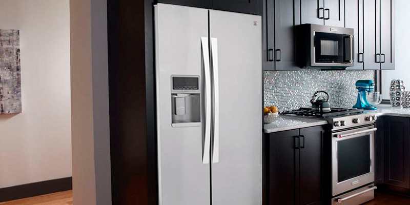 Review of Kenmore Elite 51773 28 cu. ft. Side-by-Side Refrigerator with Accela Ice Technology