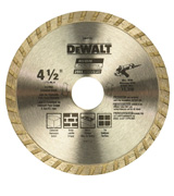 DEWALT DW4725 Diamond Saw Blade for Masonry