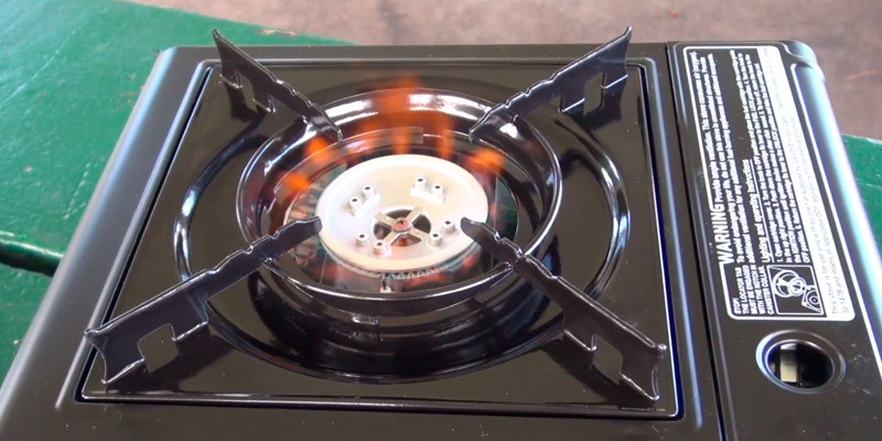 Detailed review of GasOne GS-3000 Portable Gas Stove with Carrying Case