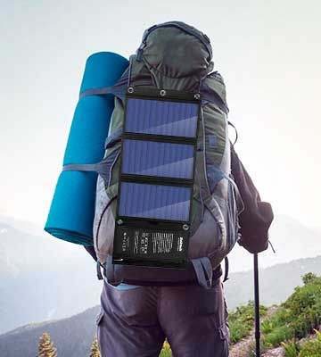 Review of Nekteck SM-B3122 21W Portable Solar Panel Charger