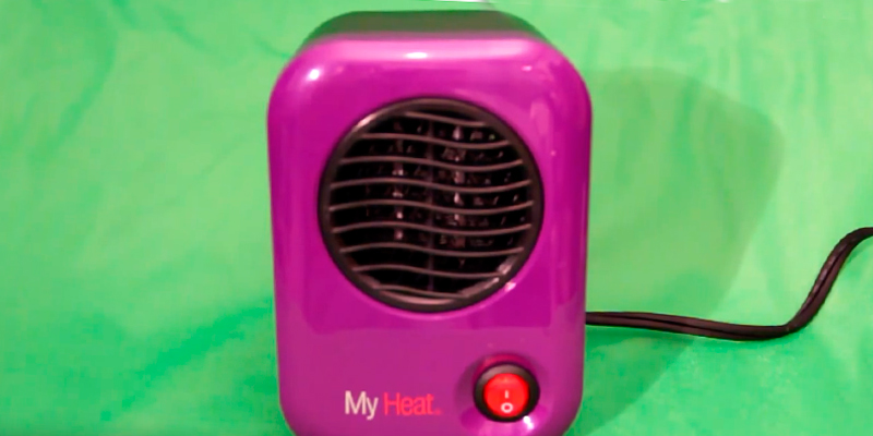 Review of Lasko 100 MyHeat Personal Ceramic Heater