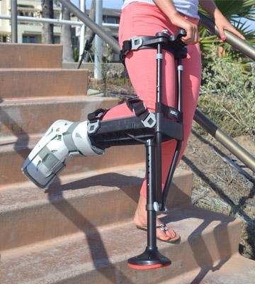 Review of iWALK2.0 Hands Free Crutch