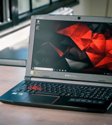 Review of Acer Predator Helios 300 (G3-571-77QK) 15.6 Gaming Laptop (Intel i7-7700HQ, 16GB RAM, 256GB SSD, GTX 1060, VR Ready)