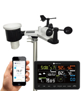 Ambient Weather WS-2902 Professional Weather Station with Internet Monitoring, Compatible with Alexa