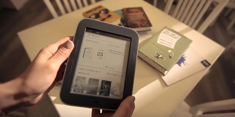 "Review of Barnes & Noble Nook 6"" Simple Touch (Touchscreen) 2GB eBook Reader eReader (Wi-Fi Only) E-Ink Pearl Technology, MicroSD, USB 2.0 Expansion Ports - Books, Newspapers, Magazines"