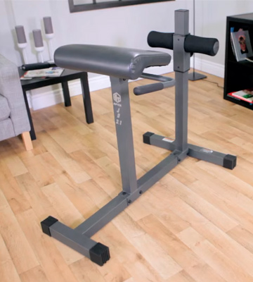 Review of Marcy JD3.1 Hyperextension Roman Chair