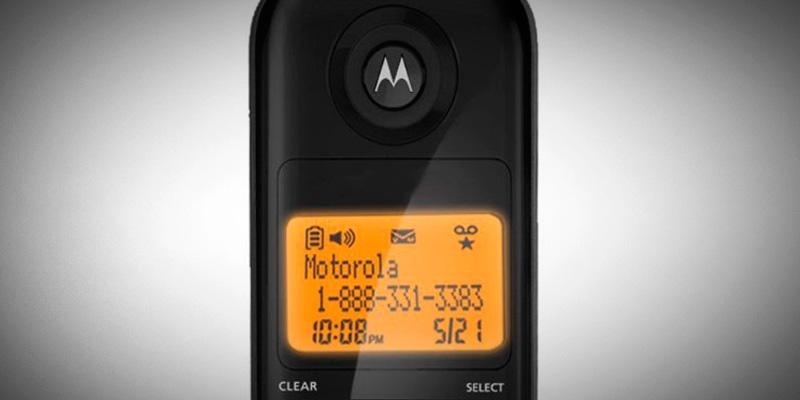 Motorola L601M DECT 6.0 Cordless Phone in the use