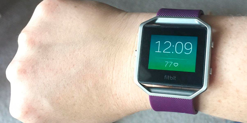 Fitbit Blaze Smart Fitness Watch application