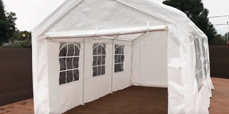 Quictent Heavy Duty Party Tent Carport Canopy in the use