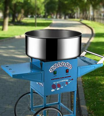 Review of Great Northern Cotton Candy Machine Floss Maker With Cart