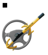 Winner International The Club 3000 Twin Hooks Steering Wheel Lock