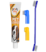 Ortz Dog Toothpaste and Toothbrush Set