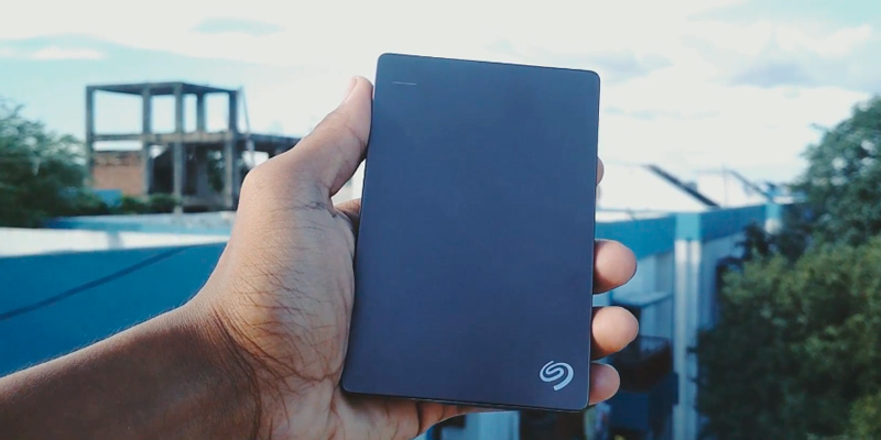 Seagate Backup Plus Slim External Hard Disk application