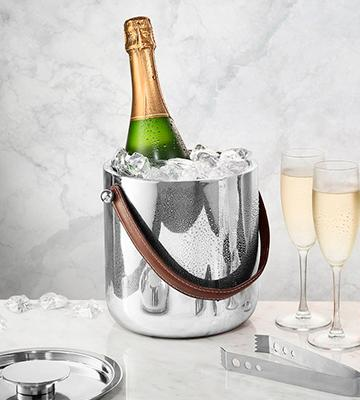 Review of Francois et Mimi 6IRZTIDE Ice Bucket with Ice Tongs