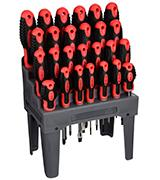 Performance Tool W1726 26-Piece Screwdriver Set with Rack