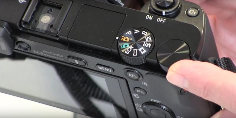 Sony Alpha a6000 Mirrorless Digital Camera in the use
