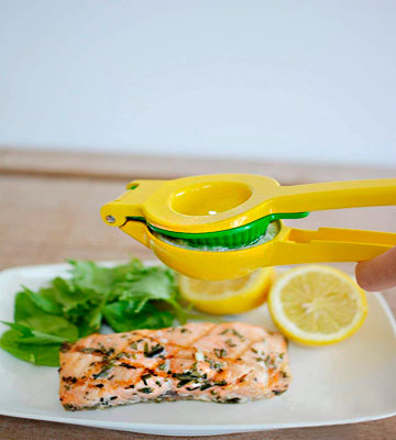 Review of Zulay Metal Lemon Lime Squeezer - Manual Citrus Press Juicer