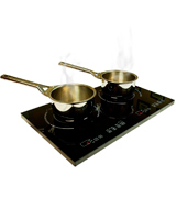 True Induction 1800-Watt Portable Induction Cooktop Double Burner