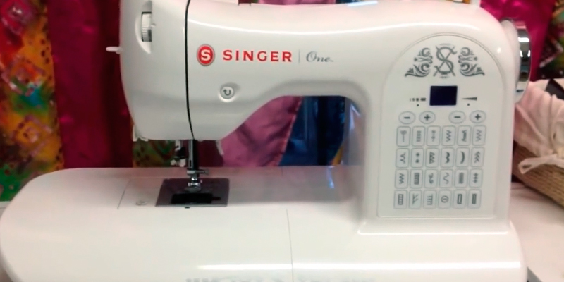 Review of SINGER One Vintage-Style Computerized Sewing Machine with Extra-Large Sewing Space