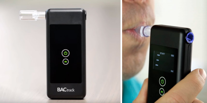 BACtrack BT-P3 Trace Breathalyzer in the use