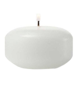 Bolsius 103632053702 White Floating Candles 1.3/4 Inch