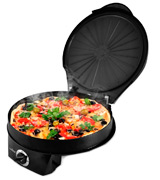 NutriChef PKPZM12 Pizza Maker Pizza Oven
