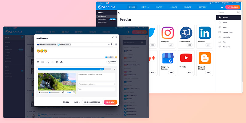 Review of Sendible Social Media Management Software