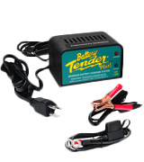 Battery Tender Plus 021-0128 1.25 Amp Battery Trickle Charger