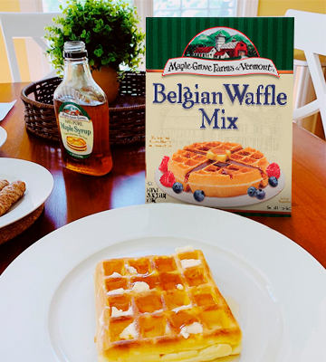 Review of Maple Grove Farms Belgian Waffle Mix