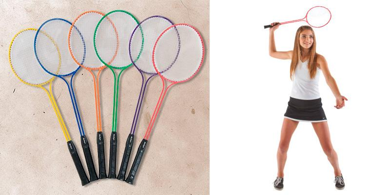 BSN Prism Pack Badminton Racquet in the use