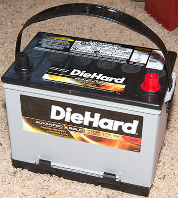 Review of DieHard Advanced Gold 34R Car Battery (55 Ah, 775 Amp)