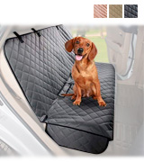 VIEWPETS Bench Car Seat Cover Protector Waterproof, Heavy-Duty and Nonslip Pet Car Seat Cover