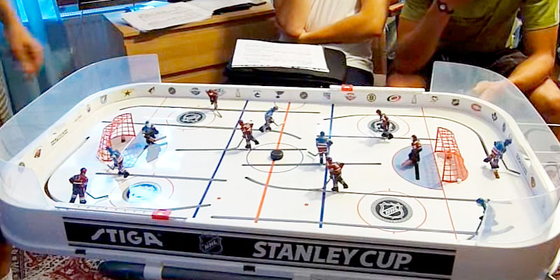 Detailed review of Stiga NHL Stanley Cup Rod Hockey
