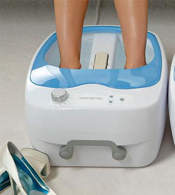 Review of Brookstone 728219 Heated Foot Bath