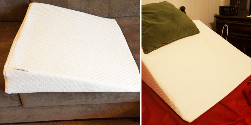 Review of Brentwood Home Therapeutic Foam Bed Wedge Pillow