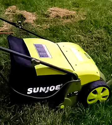 Review of Sun Joe AJ801E Electric Scarifier with Collection Bag